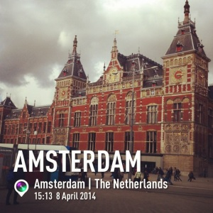 My first image of Amsterdam on instagram