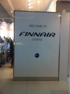 Finnair new lounge at HEL