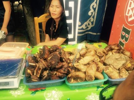 Mongolian street food